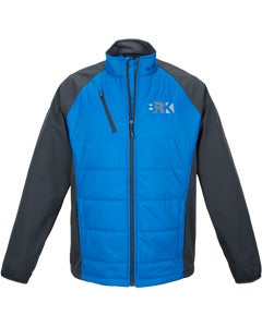 Blue Hybrid Soft Shell Jacket w/Berkshire Hathaway Embroidery