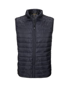 Carbon Men's Packable Puffer Vest w/Berkshire Hathaway Embroidery