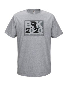 Grey Heather T-Shirt w/BRK 2020 Screenprint