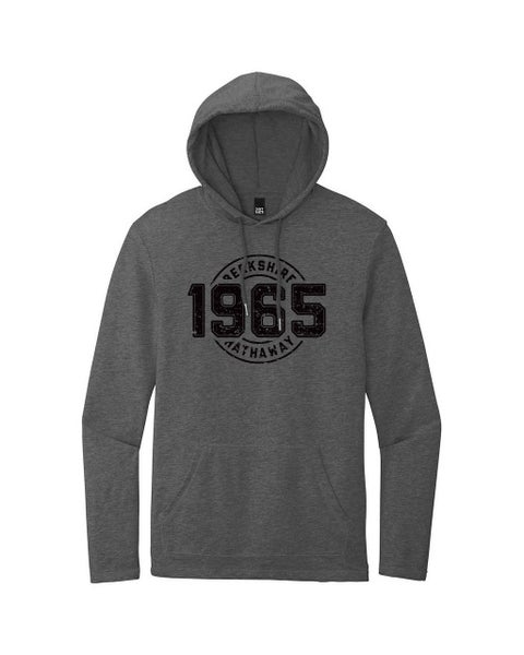 Washed Coal Hoodie w/Berkshire Hathaway 1965 Screen